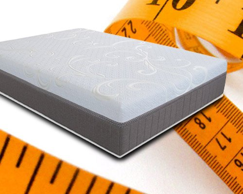 measure the mattress size