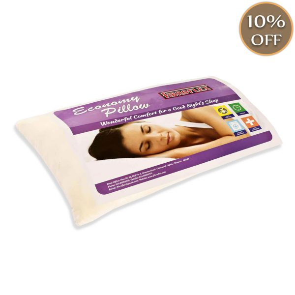 Fibroflex economy pillow